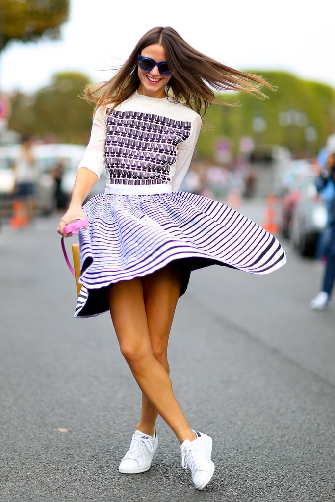 Thought You Couldn't Pull Off a Dress With Trainers? Think Again