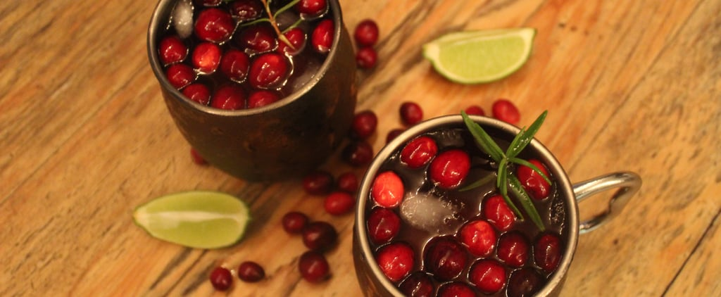 Holiday Moscow Mule Recipe and Photos