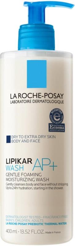 La Roche-Posay Lipikar Wash AP+ Gentle Foaming Moisturizing Wash