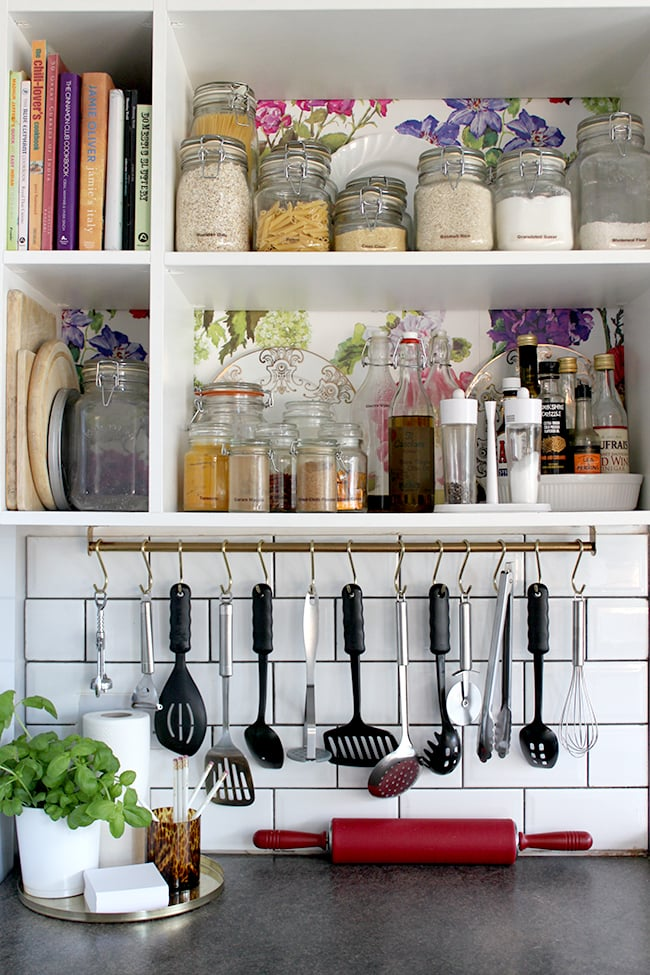 Under Cabinet Hanging Storage Ikea Kitchen Hacks: ikea hanging kitchen storage