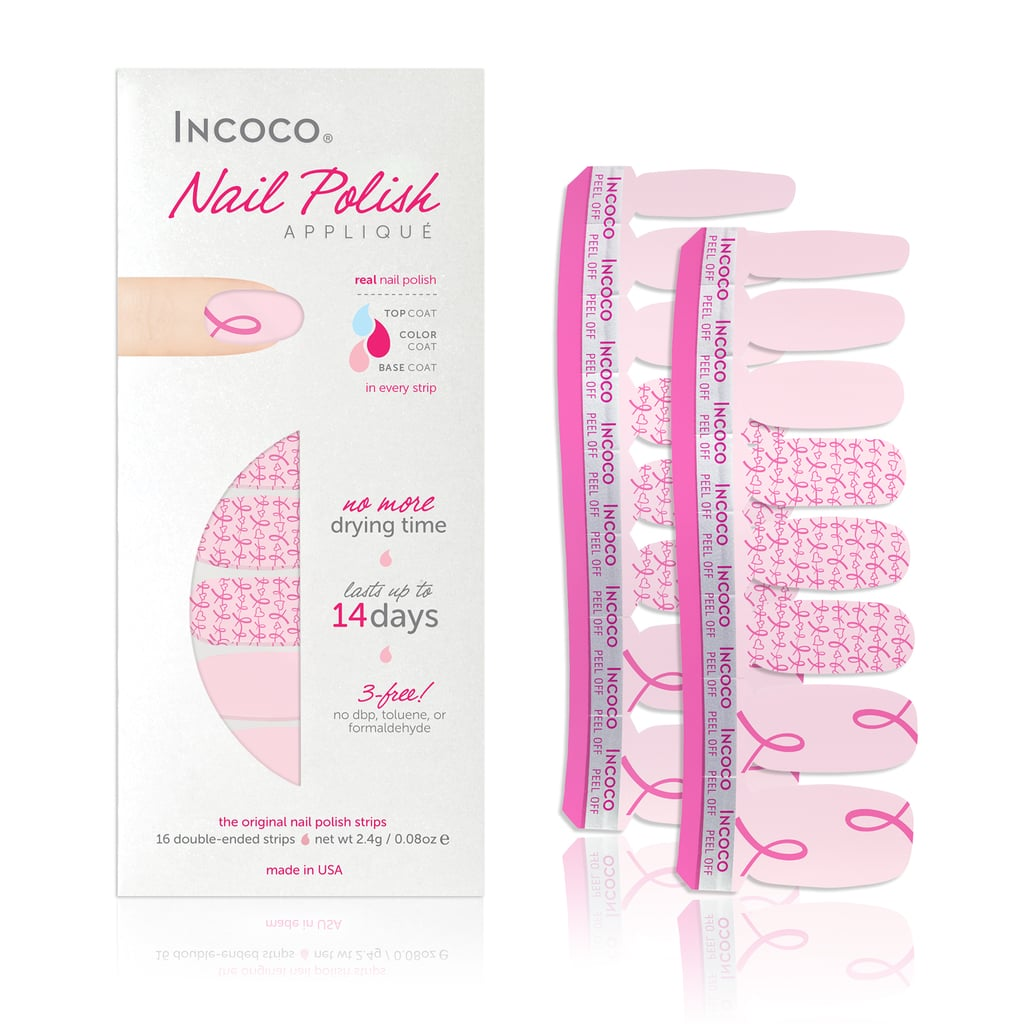 Incoco Nail Polish Appliqué | 2015 Breast Cancer Beauty Products ...