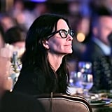 Lisa Kudrow and Courteney Cox at Open Mind Gala March 2017