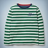 Slytherin House Stripe Tee