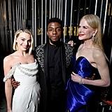Pictured: Margot Robie, Chadwick Boseman, and Nicole Kidman