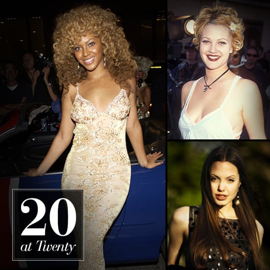 Female Celebrities at Age 20