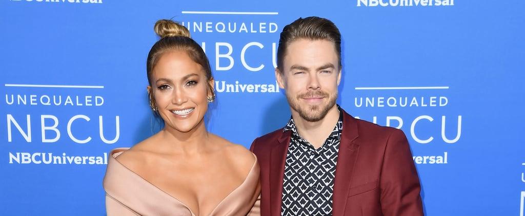 Derek Hough Stepped On Jennifer Lopez's Hair While Dancing