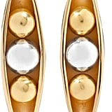 Anne Manns Eadie Silver and Gold-Plated Earrings