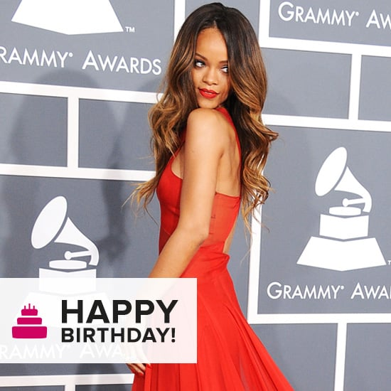 Rihanna Turns 25 Today — See Her Most Memorable Red-Carpet Moments