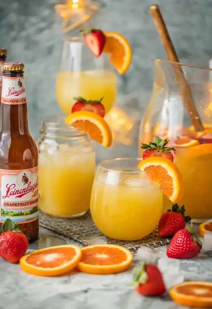 Grapefruit Beer Sangria