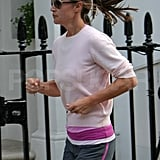 Pippa Middleton focuses on fitness.