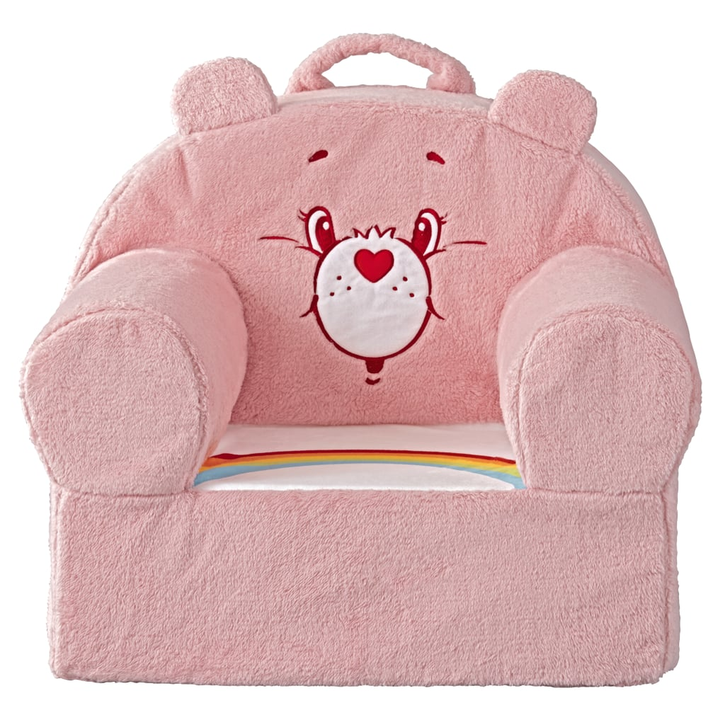Care Bears Cheer Bear Large Nod Chair ($139)  sc 1 st  Popsugar & Care Bears Cheer Bear Large Nod Chair ($139) | Land of Nod Fall 2017 ...