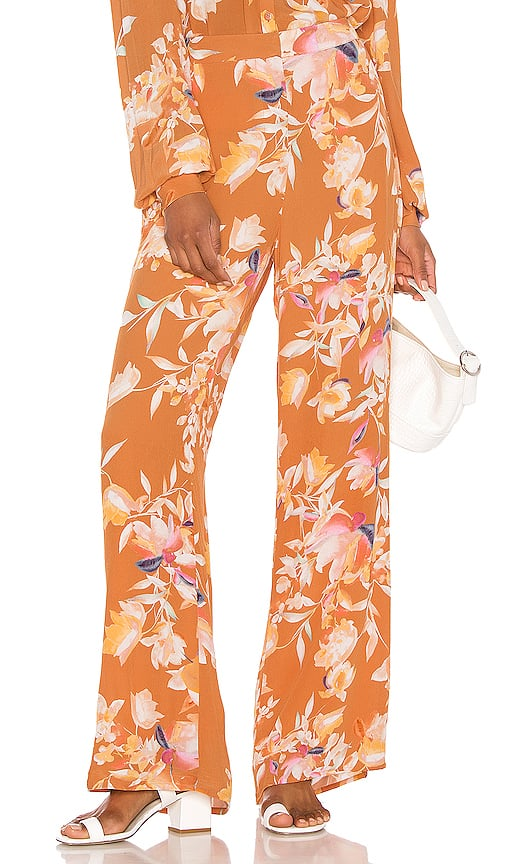 Song of Style Mari Pant in Rust Floral from Revolve.com