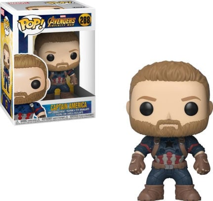 Captain America Funko Pop