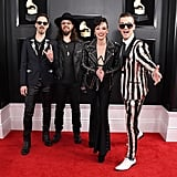 Josh Smith, Joe Hottinger, Lzzy Hale, and Arejay Hale