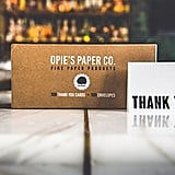 100 Letterpress Thank You Cards