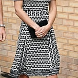 Kate wearing Tory Burch in October 2015.