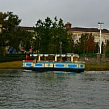 Take a ride on an Italian water taxi along the Lake Buena Vista next to Walt Disney World.