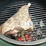 Place the Food on the Grill, Then Close the Dome