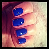 Bella ed Alison's manicure skills never fail to impress us. How good does this Nails Inc colour in Baker Street look?