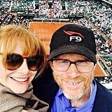 The Time They Watched a Tennis Match Together