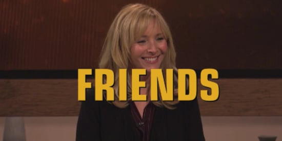The One Where Courteney Cox Grills Lisa Kudrow On 'Friends' Trivia