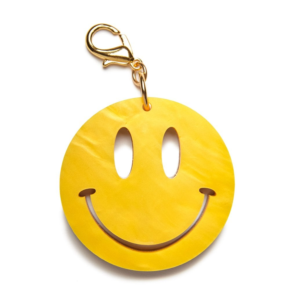 Edie Parker Happy Face Charm