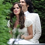 Pictures of Jennifer Garner and Russell Brand