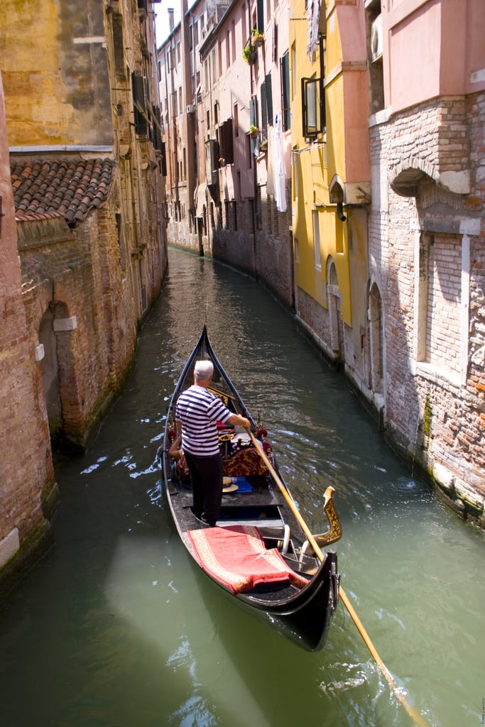 Ride a Gondola in Venice, Italy