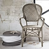 Indoor Rattan Cafe Arm Chair