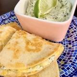 Easy Coriander Cream Sauce Recipe