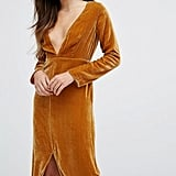 For Love and Lemons Midi Dress in Velvet, $459