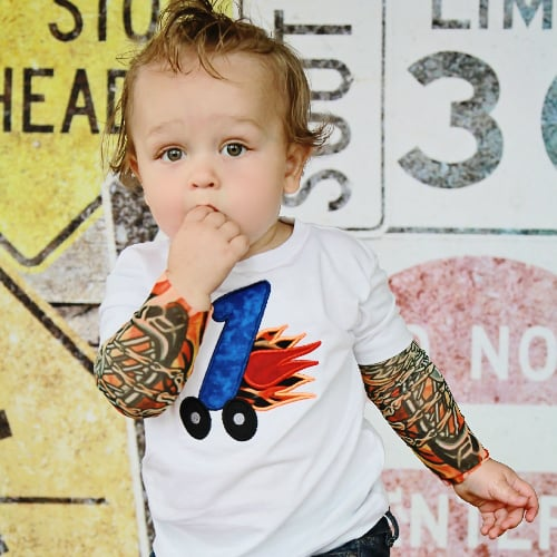 Tattoo t shirts for kids popsugar moms for Kids with real tattoos
