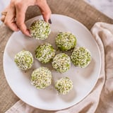 Keto Matcha Coconut Balls Recipe