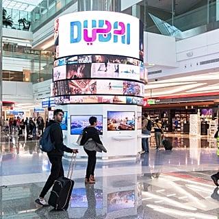استكشفوا مدينة دبي بطريقة افتراضيّة في مطار دبي الدولي