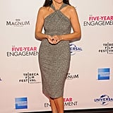 Julia-Louis Dreyfus made an appearance at the premiere of The Five-Year Engagement during the 2012 Tribeca Film Festival.