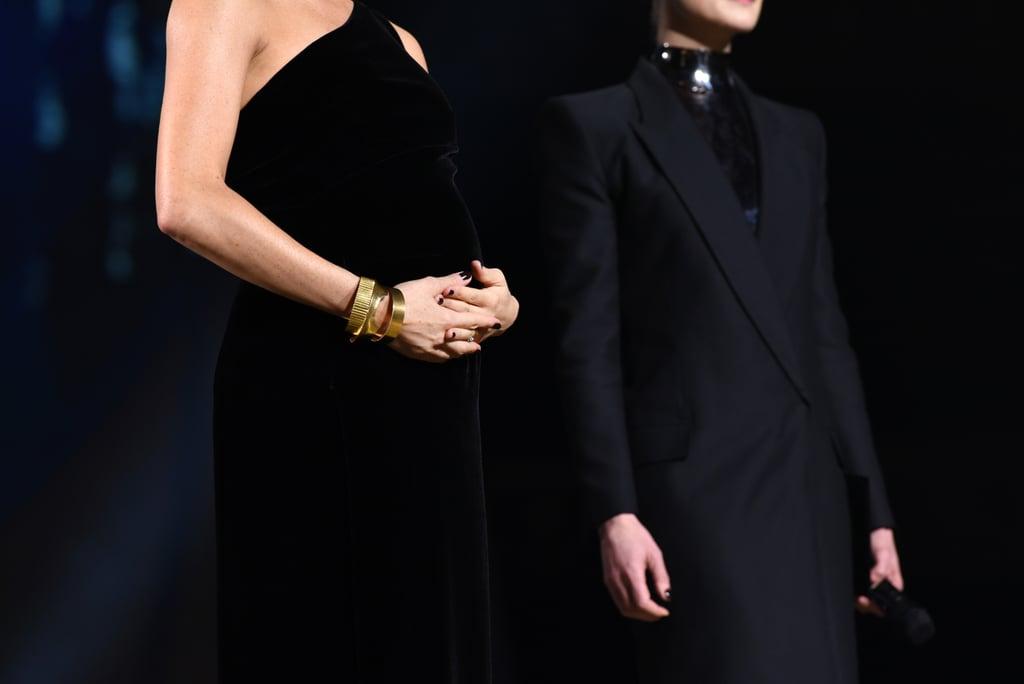 Meghan Markle's Dark Nail Polish at the 2018 Fashion Awards