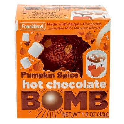 Frankford Halloween Pumpkin Spice Hot Chocolate Melting Bomb