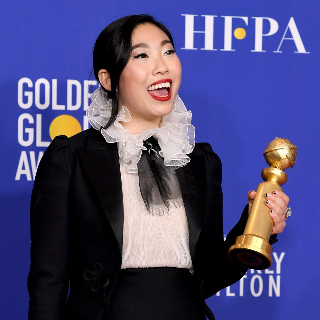 Awkwafina's Speech at the 2020 Golden Globes Video