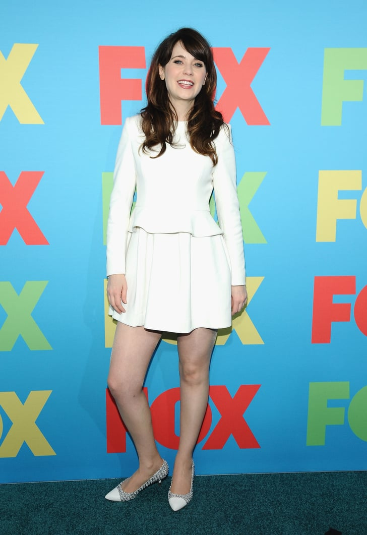 Zooey Deschanel Modest Celebrity Fashion Popsugar
