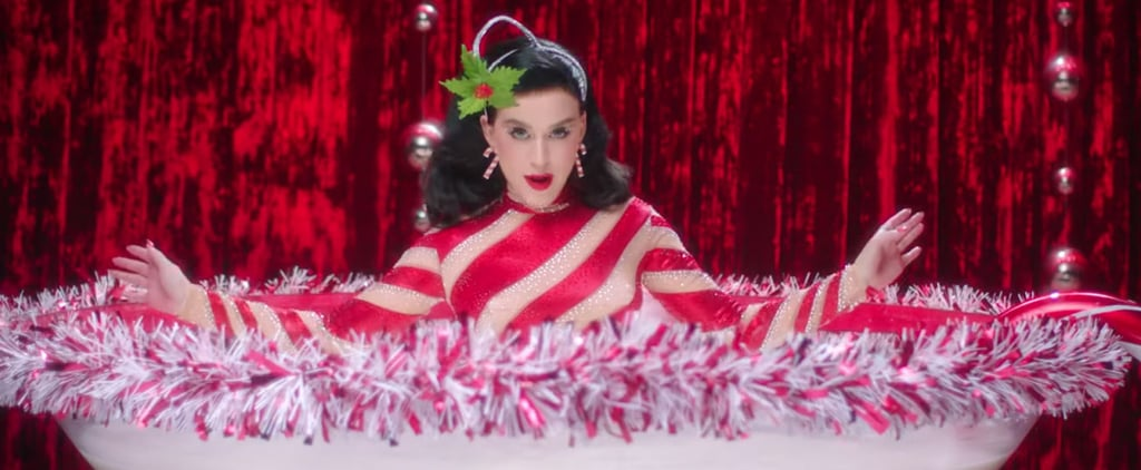 """Katy Perry's """"Cosy Little Christmas"""" Music Video"""