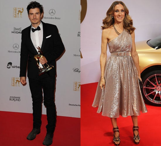 Pictures of Sarah Jessica Parker, Orlando Bloom, and Shakira at Bambi Awards 2010-11-11 16:30:00