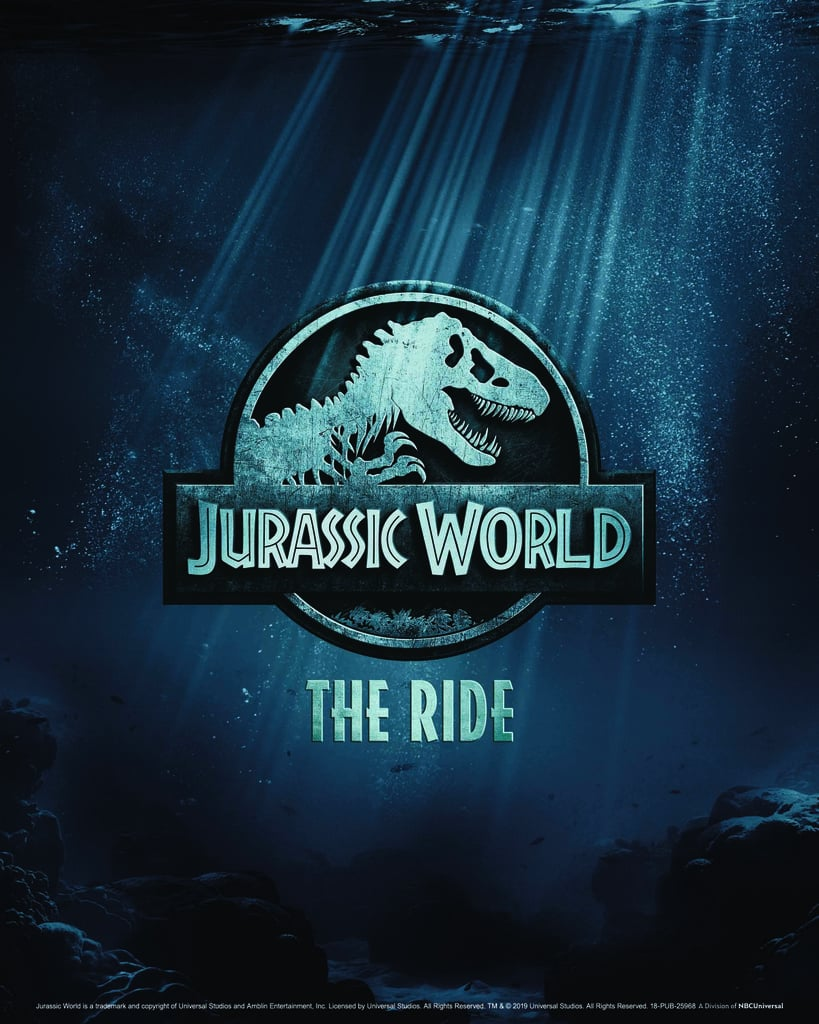 New Jurassic World Ride Universal Studios Hollywood Details