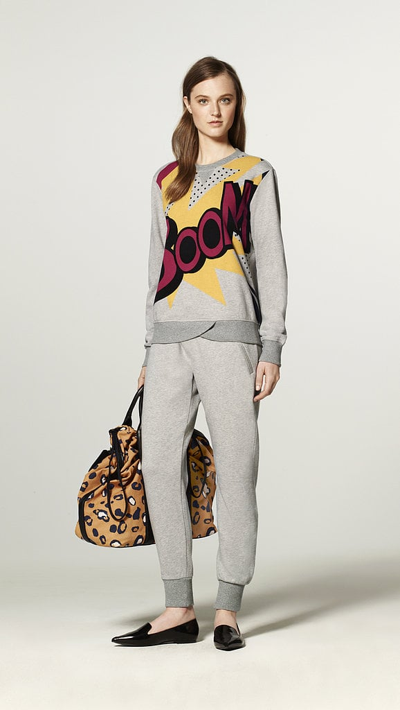 I've been counting down to Phillip Lim's collaboration with Target for months — now when my calendar alert goes off to shop the launch on Sept. 15, I'm making a beeline for this now-iconic comic book sweatshirt. I can't think of anything cooler to wear with my pencil skirts at the office or jeans on the weekends — boom! — HW