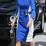 Or Accentuate Your Waist Like Queen Rania With a Matching Belt