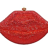 Etsy Swarovski Crystal Red Clutch