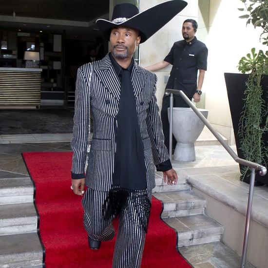 Billy Porter's Michael Kors Emmys Suit and Stephen Jones Hat