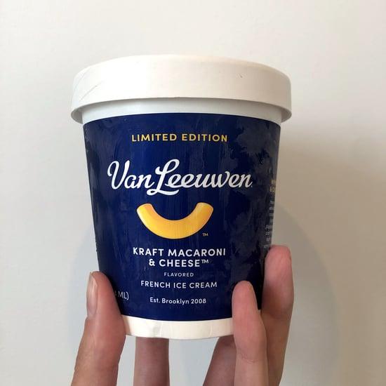 I Tried Van Leeuwen's Kraft Mac and Cheese Ice Cream: Review