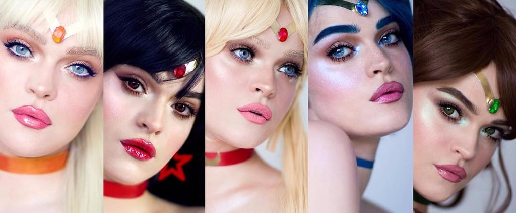 '90s Girls Will Swoon Over This Makeup Artist's Sailor Moon Looks