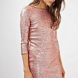 Topshop Sequin Mini Dress
