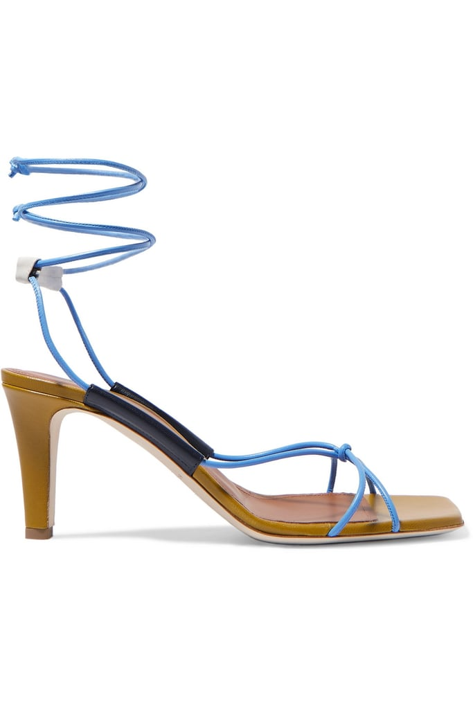 Malone Souliers+ Roksanda Camila 70 Leather Sandals